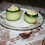 Kipsalade met komkommer