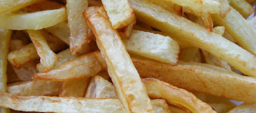 Lijnen met patat